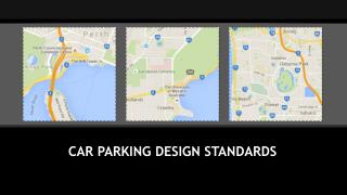 Car Parking Design Standards
