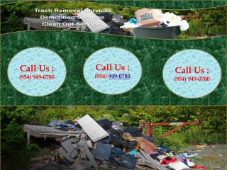 Rubbish Removal - Junk Removal Fort Lauderdale