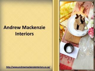 Interior Home Designers - Andrew Mackenzie