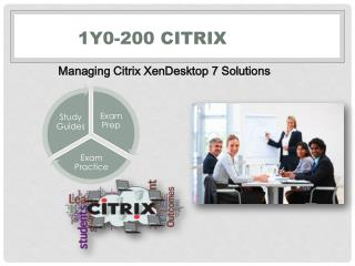 1Y0-200 Citrix VCE Braindumps Questions