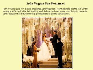 Sofia Vergara Gets Remarried