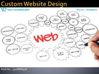 Custom Website Design@9278888358