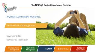 Friendly Technologies - TR-069 Device Management