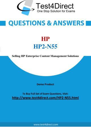 HP HP2-N55 Test - Updated Demo