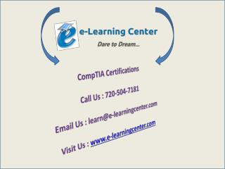 CompTIA Certifications and Courses