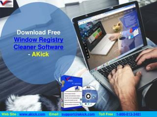 Download Free Registry Cleaner & PC Optimizer Software - AKick