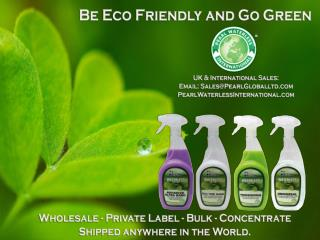 BE ECO FRIENDLY-BECOME A PEARL WATERLESS USER'S TODAY