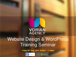 Introduction to WordPress Training Seminar by Matt Lynch Perth SEO Expert