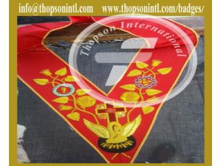 Knight of Rose Croix 18 degree collar