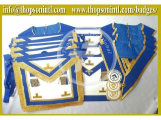 Masonic Craft provincial undress collar