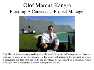 Pursuing A Career as a Project Manager
