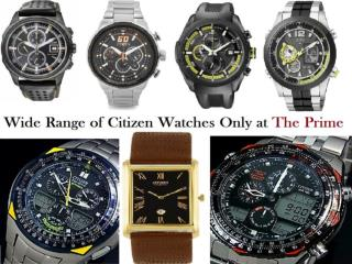 Wide Range of Citizen Watches Only at The Prime