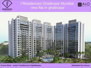 f Residences Ghatkopar Mumbai - new flat in ghatkopar