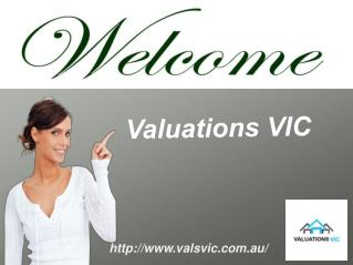 Property Valuations By Valuations VIC In Melbourne