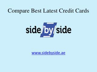 Sidebyside - Compare Best Credit Cards in Dubai & UAE Online