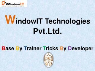 WindowIT - 6 Months Industrial Training in Chandigarh
