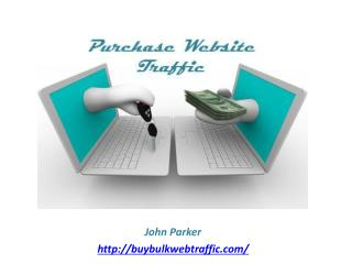 Buying Website Traffic