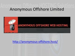Facts about Security from Anonymous Hosting