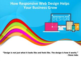How Responsive Webb Design Helps Your Business Grow