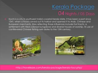 Kerala Package 04 Nights / 05 Days