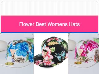 Flower Best Womens Hats