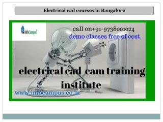 electrical cad coures in bangalore