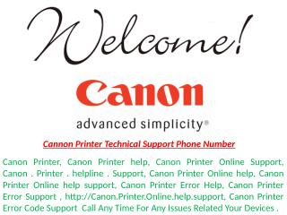 1-800-644-5716 Canon Printer Technical Support Phone Number