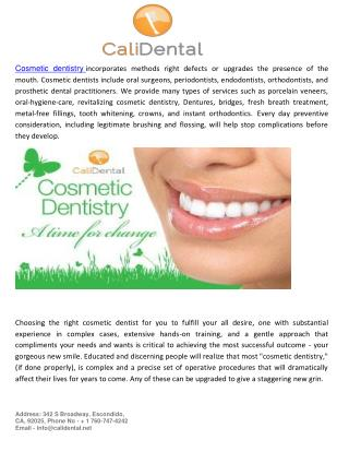 Get  Benefits Of Cosmetic Dentistry With Affordable Rate