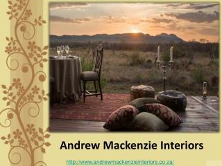 Interior Designer Johannesberg - Andrew Mackenzie