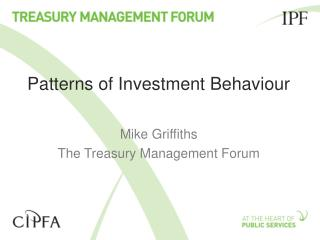 Patterns of Investment Behaviour