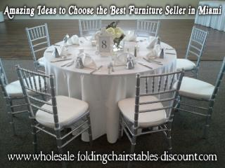 Amazing Ideas to Choose the Best Furniture Seller in Miami