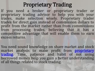 Online Share Market