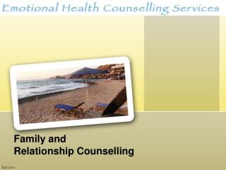 Family and Relationship Counselling