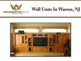 Wall Units In Warren, NJ