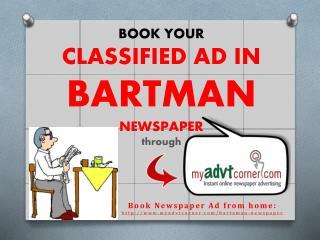 Bartaman-Classified-Advertisement-Booking-Online