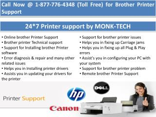 Brother tech support ||| 1-877-776-4348 number toll free