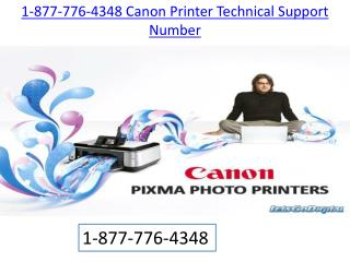 Canon Technical support | 1-877-776-4348 number toll free