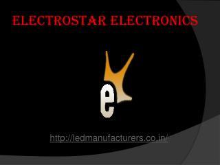 Led Light manufacturers in noida :Electrostar Electronics