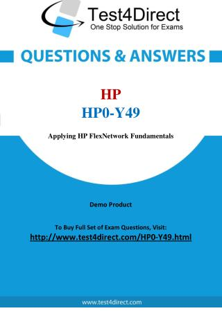 HP0-Y49 HP ATP Real Exam Questions