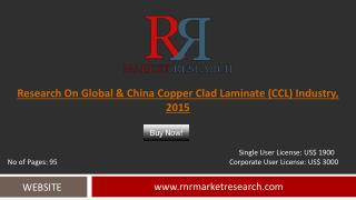 In-Depth Global and China Copper Clad Laminate Industry and Analysis 2015