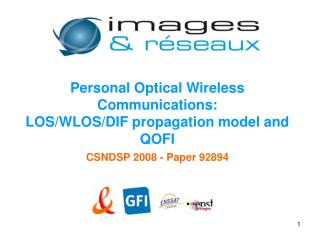 Personal Optical Wireless Communications: LOS