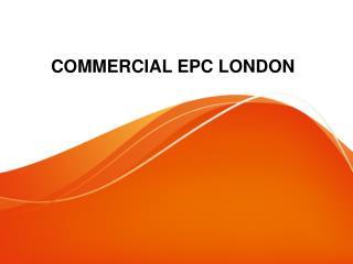 Commercial EPC London