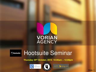 Hootsuite Training Seminar by Matt Lynch Perth Social Media Specialist