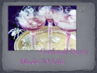 Chic & Modern-Lila Trägerlos Cocktailkleid ONLINE