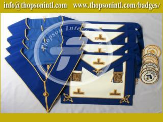 Craft Provincial undress apron badge