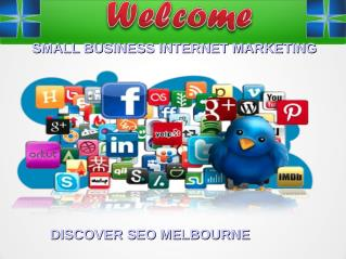 Small Business Internet Marketing Discover SEO Melbourne