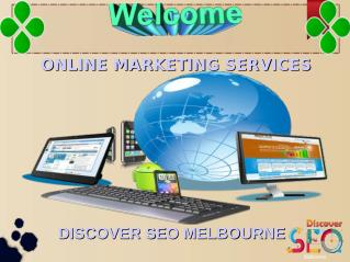Online marketing Services Discover SEO Melbourne