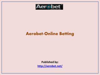Aerobet-Online Betting