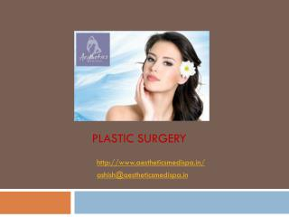 Experienced Cosmetic Surgeon Pune only at Aesthetics Medispa