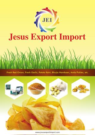 Jesus Export Import Gujarat India